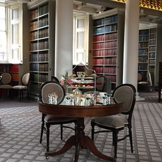 The refurbished Colonnades at the Signet Library