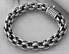 Handmade Tibetan Bracelet Sterling Silver Bracelet