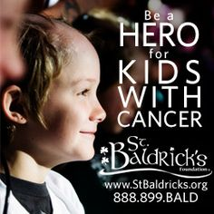 I help St. Baldricks every year here in Brevard, Florida.  To say I am PASSIONATE about this organization - is sincerely an understatement.  Please help to fight Children's Cancer -- and if you're in Orlando/Florida and want to join Team Live Out Loud for St. Baldricks 2013 -- please let me know!!