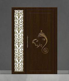 Pooja Mandir, Pooja Room Door Design, Religious Symbols, Pooja Rooms, Elephant Head, Room Doors, Indian Gods, Traditional Decor, Gods And Goddesses