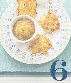 Day 6: #Hanukkah begins this evening! We've rounded up 5 delicious recipes to help you celebrate, including crispy latkes and amazing salted caramel sufganiyot.