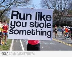Great motivation for runners ESPECIALLY during Track and field season :) great track t-shirt