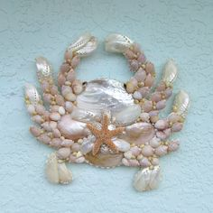 Garden Decor Hanging Seashell Pearl Diy