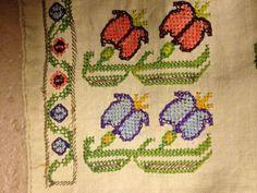 Antique Turkish Ottoman Embroidery Textile