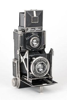 Zeca Flex Folding Twin Lens Reflex Camera with Zeiss Tessar Lens TLR | eBay