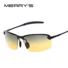 67268905fc5 Men Night and Day Dimming Night Vision Driving Polarized Sunglasses Men  Aluminum Magnesium Male Sunglasses Glasses - Intl