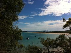 Great Keppel Island, Queensland - visiting as part of the Capricorn Literary Festival.