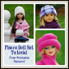 "I added ""Fleece Doll Hat – Free Printab"" to an #inlinkz linkup!http://zanaree.com/fleece-doll-hat-free-printable-pattern/  Check out all the other talented crafters."