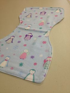 Baby Blue and Pink Penguins by BabyBubbaSteps on Etsy