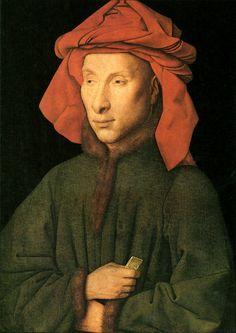 Portrait of Giovanni Arnolfini - Jan van Eyck