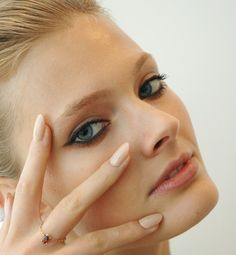 Flesh-toned nails for spring...http://glo.msn.com/beauty/backstage-beauty-7456.gallery?photoId=65543