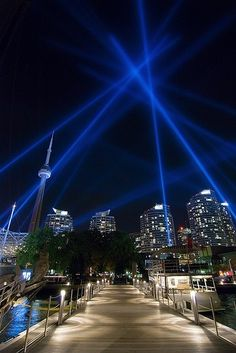 Toronto by Night, Harbourfront   Canada