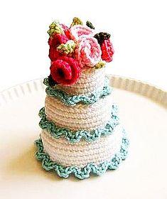 Birthday Cake Crochet Pattern Free Crochet Birthday Cake Crochet