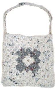 Recycled Crochet Plastic Bag Purse