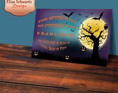 Convite Digital Halloween Noite
