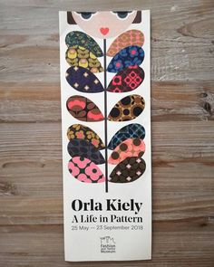 """One reason for heading down South was to visit this very inspiring exhibition at the 🏵️💠💮👜👛😍😾 What is your favourite 's pattern? """"Orla Kiely: A Life in Pattern"""" - Fashion and Textile Museum Textile Museum, Orla Kiely, Down South, Surface Pattern, Pattern Fashion, Textile Design, Phoenix, Etsy Shop, London"""