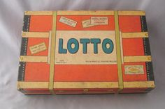Vintage Milton Bradley Lotto Game #MiltonBradley