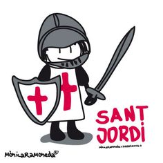Sant Jordi by mònica ramoneda DISSENYADORA GRÀFICA I IL·LUSTRADORA A BARCELONA