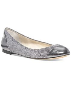 MICHAEL Michael Kors Shala Ballet Flats - Shoes - Macy's