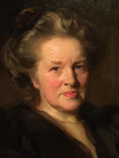notice patterns in hair and how it flows with face features..they are not just random strokes - Sargent