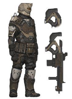 ArtStation - Future Soldier, Ariel Perez