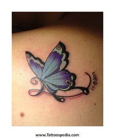 b367ba705 The gallery for --> Lupus Tattoos Purple Butterfly Tattoo, Purple Tattoos ,