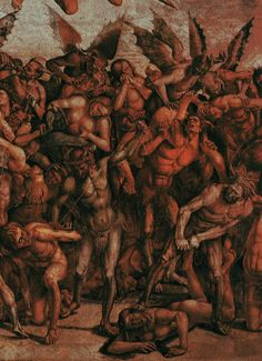 Luca Signorelli, The Last Judgement (detail)