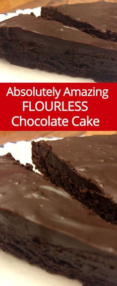 Flourless Chocolate Cake Recipe - Easy & Gluten-Free! | MelanieCooks.com