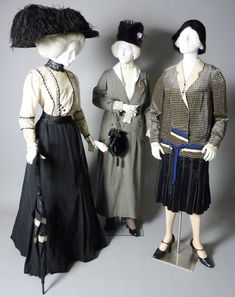museum dress displays | The display at this museum on the 1913 woman suffrage parade includes ...