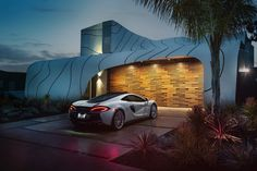 The Wave House has featured in an advertising campaign by McLaren