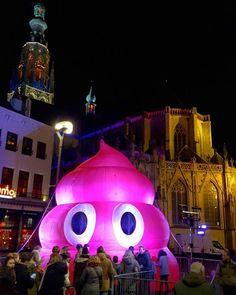 A cultural night in the city centre of Breda. Photo by: @patrickv_fotografie via Instagram