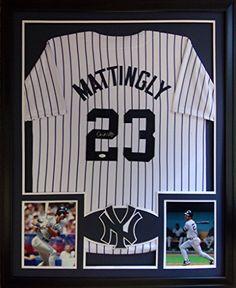 2830c66c5 Don Mattingly Framed Pinstripe Jersey Signed JSA COA Autographed New York  Yankees Donny Mister Mancave http