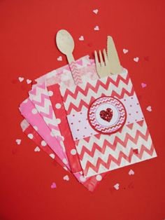 Chevron or Polka Dot Goodie Bags (Set of 12)