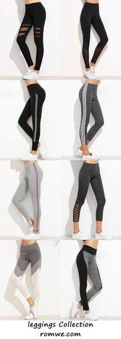 Black leggings in the top left size small Sporty Outfits, Athletic Outfits, Athletic Wear, Cute Outfits, Workout Attire, Workout Wear, Gym Wear, Dance Outfits, Courses