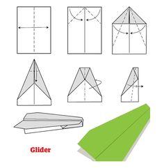 Como hacer aviones de papel paso a paso