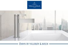 Dawn from Villeroy & Boch is the tool box for the interior designer & architect. Featuring minimalist design in 2 styles, Dawn & Dawn Slim this collection establishes a new design idiom for contemporary tap fittings. Dawn tapware allows for diverse interior design options & adds a fresh touch to modern bathrooms. #arthausbk #villeroyboch #dawnbyvilleroyboch #dawnslim