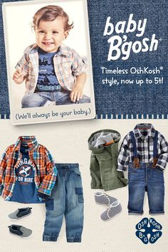 Introducing Baby B'gosh New Arrivals! Timeless OshKosh style, now up to 5t! Shop now.