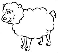 Image result for sheep pen colouring pictures Colouring Picture