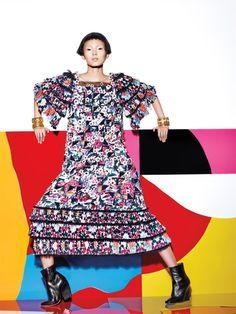 Xiao Wen Ju by Richard Burbridge for Vogue Chine January 2015 10