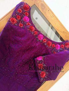 Baptism Dress For Mom, Kurtha Designs, Salwar Pattern, Hand Embroidery Dress, Silk Saree Blouse Designs, Salwar Designs, Designer Blouse Patterns, Formal Dresses For Weddings, Girls Dpz