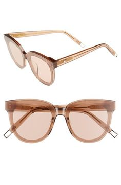 106949ce8214 GENTLE MONSTER IN SCARLET 68MM OVERSIZE CAT EYE SUNGLASSES - LIGHT BROWN.   gentlemonster  . ModeSens