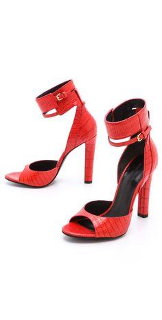 Alexander Wang Aminata Ankle Cuff Sandals   SHOPBOP