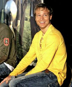 Brian Littrell, I was so in love with him as a teenager! He's still hot, lol.