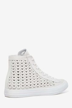 Converse All Star High-Top Suede Sneaker - Woven Gray - Shoes | High-Tops | Flats | Converse
