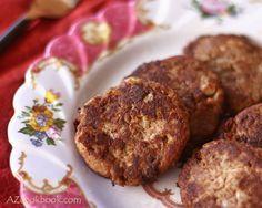 AZ Cookbook - Food From Azerbaijan & Beyond » Lamb Patties from Lenkeran (Shami), Azerbaijan