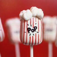 movie party cake pops - Google Search
