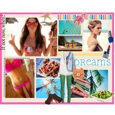 """Vamos a la playa"" by beneffandgo on Polyvore"