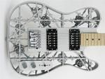 Listen to the worlds first 3D printed aluminum guitar by Olaf Diegel   http://www.3ders.org/articles/20160926-listen-to-the-worlds-first-3d-printed-aluminum-guitar-by-olaf-diegel.html