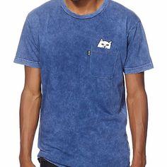 Pocket Tee Rip N Dip Lord Nermal Navy – Popular Skateshop