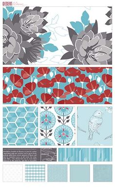 Desert Bloom Designed by Amanda Herring for Riley Blake Designs #iloverileyblake #fabricismyfun